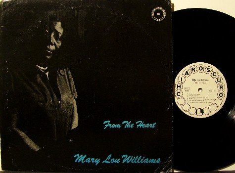Williams, Mary Lou - From The Heart - Vinyl LP Record - Chiaroscuro Label - New York - 1971 - Jazz