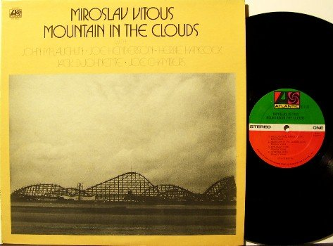 Vitous, Miroslav - Mountain In The Clouds - Vinyl LP Record - Roller Coaster Cover- Herbie Hancock