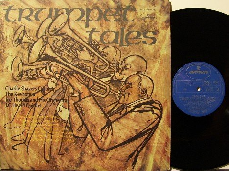 Trumpet Tales - Vinyl LP Record - Japan Pressing - Jazz Mono - Charlie Shavers, Jo Jones