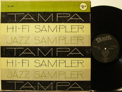 Tampa Hi-Fi Jazz Sampler - Vinyl LP Record - Deep Groove - Unusual Recording Techniques