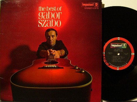 Szabo, Gabor - The Best Of - Vinyl LP Record -  Impulse Jazz - Stereo - Glossy Cover