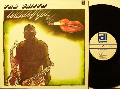 Smith, Tab - Because Of You - Vinyl LP Record - Delmark Jazz - Alto Sax