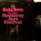 Sete, Bola - At The Monterey Jazz Festival - Vinyl LP Record - Gatefold - MGM Verve Jazz