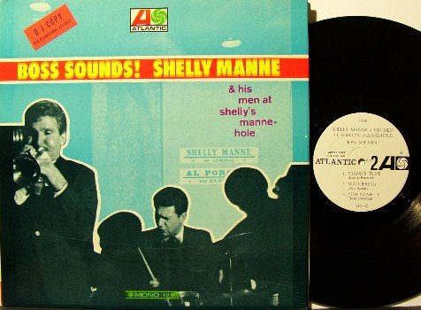 Manne, Shelly - Boss Sounds - Vinyl LP Record - Gatefold - Mono 1966 White Label Promo - Jazz