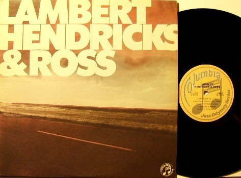 Lambert Hendricks & Ross - High Flying With (re-issue) - Vinyl LP Record - Promo - Jazz