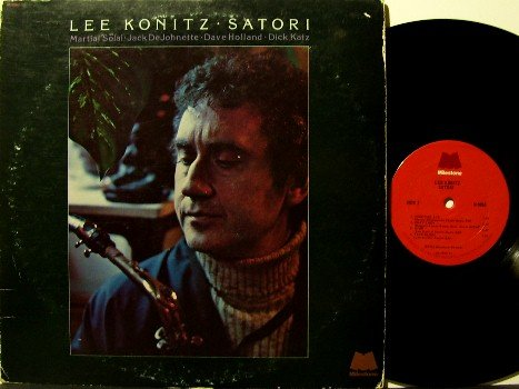 Konitz, Lee - Satori - Vinyl LP Record - Milestone Jazz - Jack DeJohnette, etc
