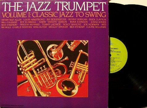 Jazz Trumpet Volume 1 - Swing - 2 Vinyl LP Record Set - Prestige / Fantasy Label