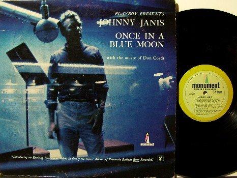 Janis, Johnny - Vinyl LP Record - Jazz - Playboy Playmate Ellen Stratton Photo- Hugh Hefner Produced