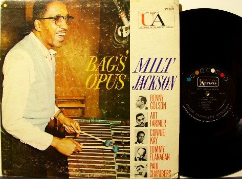 Jackson, Milt - Bags' Opus - Vinyl LP Record - Jazz - Art Farmer, Paul Chambers, etc