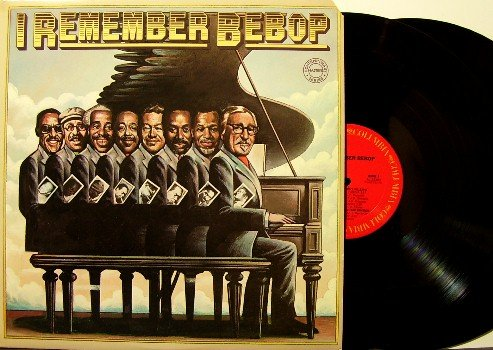 I Remember Bebop - 2 Vinyl LP Record Set - Jazz