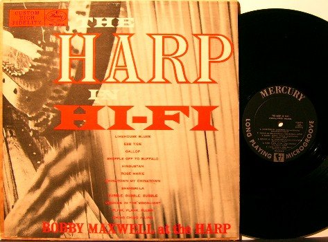 Maxwell, Robert (Bobby) - The Harp In Hi-Fi - Vinyl LP Record - Mono - Mercury Pop / Jazz
