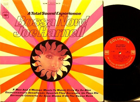 Harnell, Joe - Bossa Now - Vinyl LP Record - Bossa Nova Jazz - Unusual Instruments