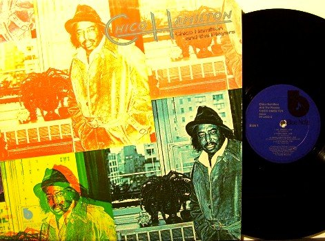 Hamilton, Chico - Chico Hamilton And The Players - Vinyl LP Record - Blue Note Jazz