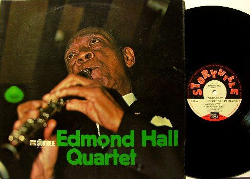 Hall, Edmond Quartet - Vinyl LP Record - German Pressing - Storyville Label - Jazz