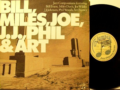 Evans, Bill + Miles, Jo, JJ, Phil & Art - Outstanding Jazz Compositions - Vinyl LP Record - Promo