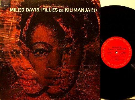Davis, Miles - Filles De Kilimanjaro - Vinyl LP Record - Jazz