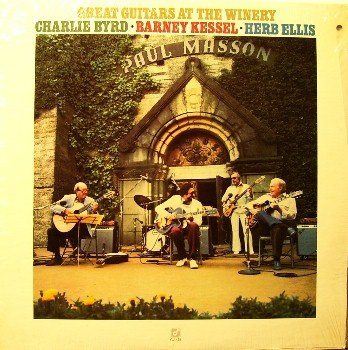 Byrd, Charlie / Barney Kessel / Herb Ellis - Great Guitars - Sealed Vinyl LP Record - Jazz