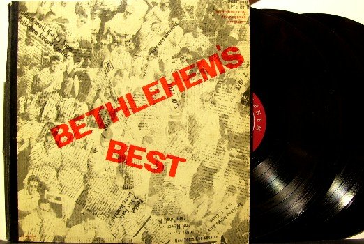 Bethlehem's Best - 3 Vinyl LP Record Set - Many Great Artists - Bethlehem Jazz