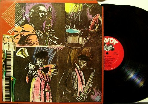 Bebop Boys - 2 Vinyl LP Record Set - Jazz - with Sonny Stitt, Kenny Dorham, Milt Jackson, etc