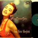 Alberghetti, Anna Maria - I Can't Resist You - Vinyl LP Record - Original Capitol Mono Jazz