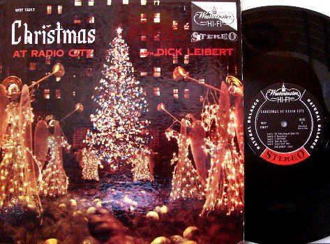 Liebert, Dick - Christmas At Radio Cafe - Vinyl LP Record - Organ Instrumental