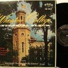 Wheaton College Centennial Album - LP Record - Word - Illinois - Christian Gospel