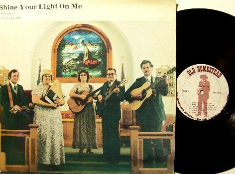 Sunnyside - Shine Your Light On Me - LP Record - Southern Country Bluegrass Gospel
