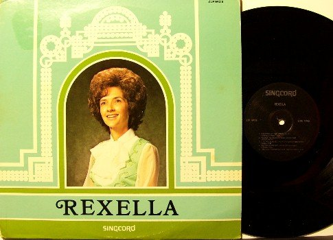 Rexella - LP Record - Wife of Jack Van Impe - Christian Gospel