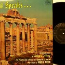 Paul Speaks - LP Record - Kenneth N. Taylor Paraphrased Epistles - Spoken Word Christian Gospel