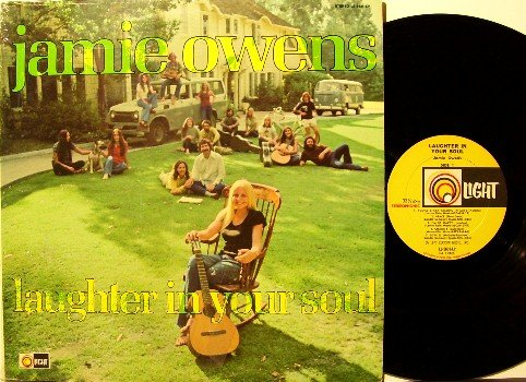 Owens, Jamie- Laughter In Your Soul - Vinyl LP Record - 2nd Chapter Of Acts - Hippie Folk Xian