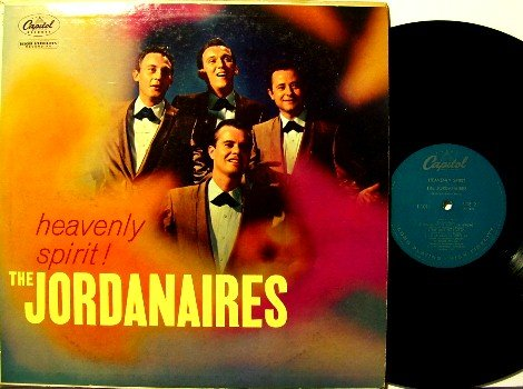 Jordanaires, The - Heavenly Spirit - Vinyl LP Record - Capitol Original Mono - Country Folk Gospel