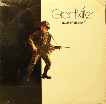 Giantkiller - Valley Of Decision -Sealed Vinyl LP Record - Giant Killer - Xian Christian Rock