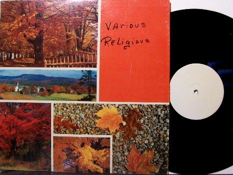 Various Religious - Unknown Artists - Test Pressing? - Vinyl LP Recordl - Southern Country Gospel