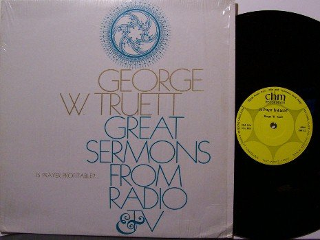 Truett, George W. - Is Prayer Profitable - Vinyl LP Record - Spoken Word Gospel