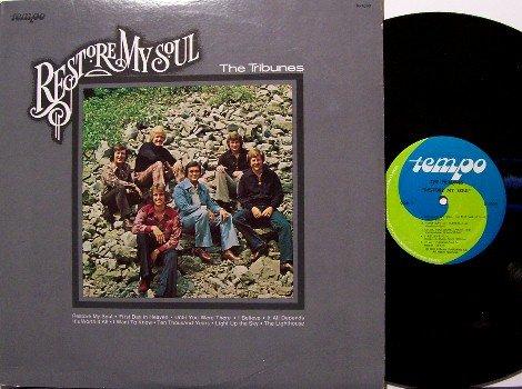Tribunes - Restore My Soul - Vinyl LP Record - Christian Gospel