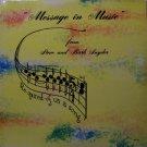 Snyder, Steve & Barb - Message In Music - Sealed Vinyl LP Record - Private Label - Christian Gospel
