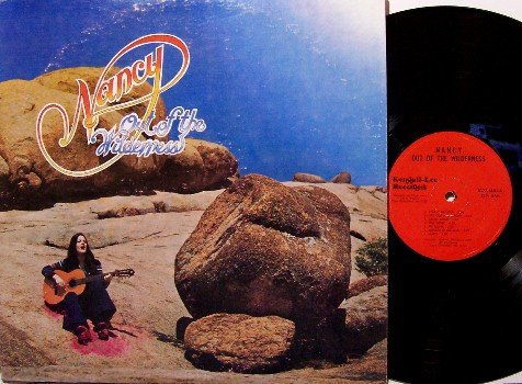 Sebastian, Nancy - Out Of The Wilderness - Vinyl LP Record - Xian Folk Christian