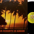 Roberts, Oral - In Hawaii - Vinyl LP Record - Oral Roberts University postcard - Christian Gospel