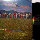 Lake Junaluska Singers - Teach The World To Sing - Vinyl LP Record - A Cappella Christian