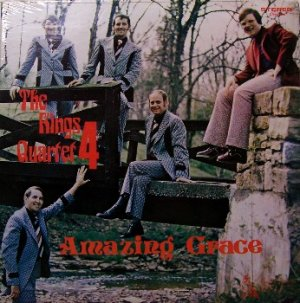 King's Quartet 4 - Amazing Grace - Sealed Vinyl LP Record - Southern Gospel