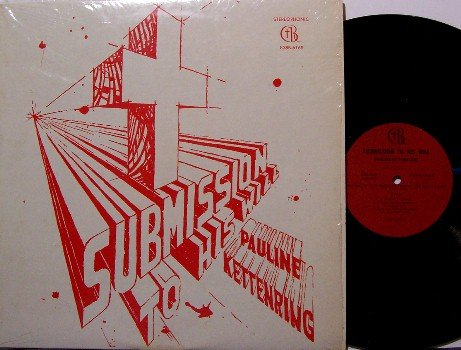 Kettenring, Pauline - Submission To His Will - Vinyl LP Record - Christian Gospel