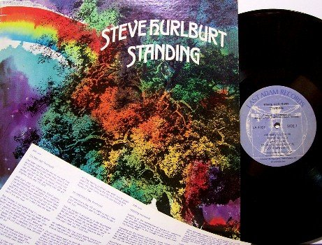 Hurlburt, Steve - Standing - Vinyl LP Record - Last Adam Label - Xian Contemporary Christian Rock