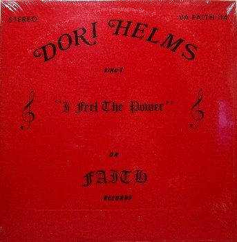 Helms, Dori - I Feel The Power - Sealed Vinyl LP Record - Country Christian