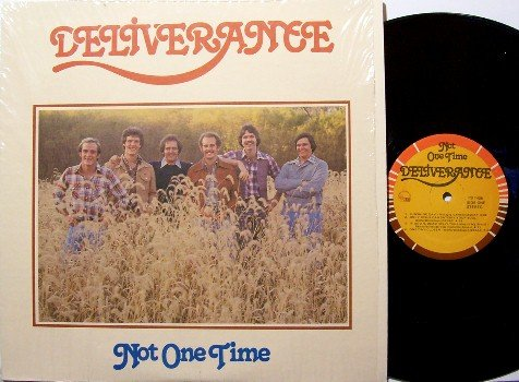 Deliverance - Not One Time - Vinyl LP Record - Contemporary Christian Gospel