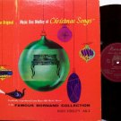 Music Box Medley Of Christmas Songs - Vinyl LP Record - Bornand Collection