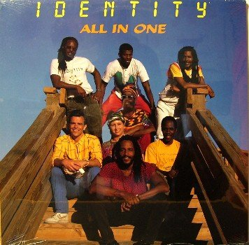 Identity - All In One - Sealed Vinyl LP Record - Reggae