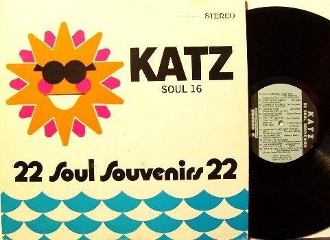 KATZ  Philadelphia Radio Station - 22 Soul Souvenirs - Vinyl LP Record - R&B