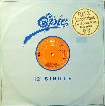 "Ritz - Locomotion / Lady Love - 12"" Vinyl LP Record - UK Pressing - Disco Soul R&B"