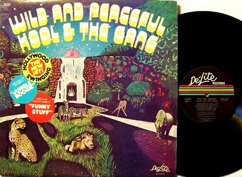 Kool & The Gang - Wild And Peaceful - 1973 - Vinyl LP Record - Funk Soul R&B