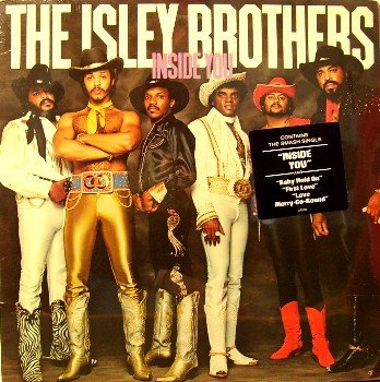 Isley Brothers - Inside You - Sealed Vinyl LP Record - Funk Soul R&B